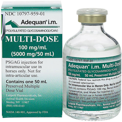 Adequan I M Multi Dose 100 mg mL 50 mL