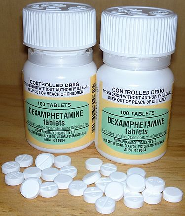 Dextroamphetamine ir