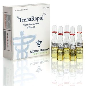 TrenaRapid Trenbolone Acetate 100mg Alpha Pharma