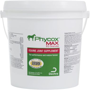 phycox max eq joint support granules for horses 2700 gm 56